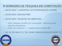 Seminário de Pesquisa em Computação