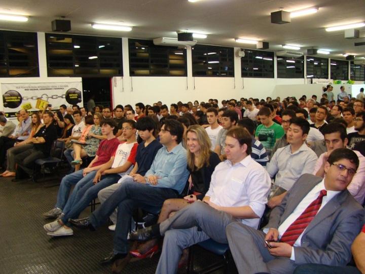 Mais de mil pessoas participaram das palestras e minicursos nos 4 dias do evento