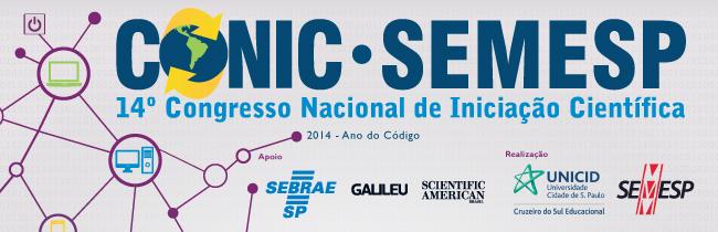 14º Congresso Nacional de Iniciação Científica (CONIC/Semesp)